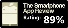 89% on The Smartphone App Review